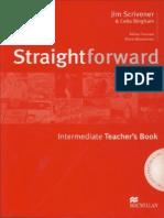 Straightforward Intermediate - Teacher's Book