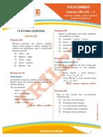 Solucionario UNI 2013-II Ciencias Sociales, Cultura General y Aptitud Acad Mica