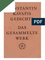 Kavafis - Gedichte (2003)