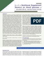 exfuze double blind study