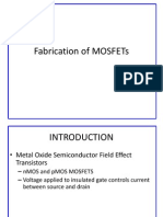 Fabrication of MOSFETs