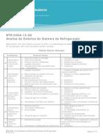 BTR 049A-12-08 Analise de Defeitos Do Sistema de Refrigeracao