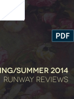 Spring Summer 2014 Runway Reviews