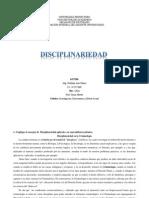 Disciplinariedad Abg. NATHALIO PIÑERO