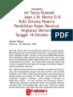 Kuliah DN. Aidit - Harian Rakjat (1964)