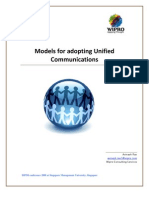 Models for Adopting Unified Communications