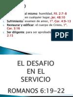 El Desafio en El Servicio