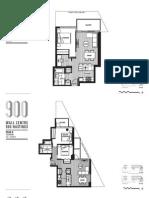 900 Hastings Tower 3 Floor Plans