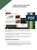 Como Instalar El Windows 8 .....7
