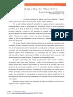 Rodríguez, Romina - Sujeto, arte e ideología, un diálogo entre L. Althusser y T. Adorno