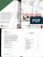 Matthew Carmona Public Places Urban Spaces Pdf Download