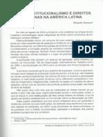 Novo Constitucionalismo e Direitos Indígenas na A. Latina