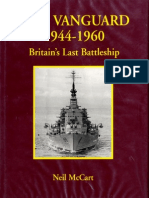 Warship Anatomy of the Ship HMS Vanguard 1944-1960 Britain Last Battleship