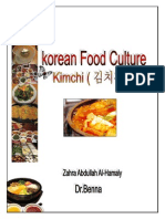 Korean Food Culture