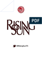 "Rising Sun, Capitulo 5 ""Last Night On Earth"""