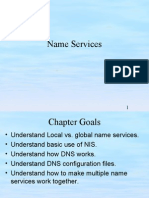 chap 6 name service administration