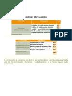 criterios de evaluacin blog