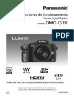 Vqt1u40 Manual de Funcionamiento Panasonic