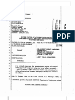 Plaintiff's First Amended Complaint and Exhibits Filed 8 5 09 - Olsen F-22