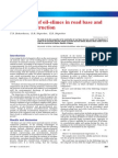 Application of oil-slimes in road base and surface construction