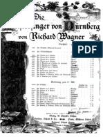 Wagner Tausig Die Meistersinger Vorspiel