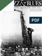 Jazz & Blues - Playalong Solos for Alto Eb Saxophone