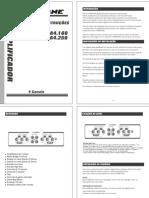 Manual Manual HA Amplifiers