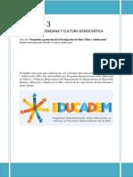 Módulo  3 Educación Ciudadana