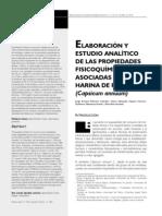Elaboracion y estudio analítico de las propiedades fisicoquimicas asociadas al pimiento