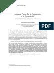 Juan Gabriel Araya - Nicanor Parra. de La Antipoiesis a La Ecopoiesis