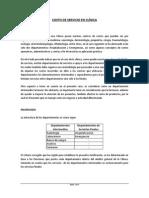 UNT - CONTABILIDAD DE COSTOS I - CASO CLÍNICA - 2012 II
