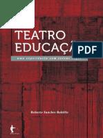 Teatro Educação - pra cegos