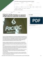 Implican a Pacific Rubiales en supuesta compra bélica de oposición venezolana _ La República
