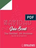 Ayuda de Programa Navidad Guía Scout 2013