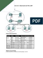4.5.1 Observación de TCP y UDP utilizando Netstat