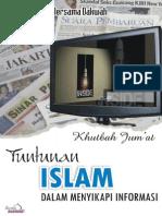 Khutbah Jumat - Tuntunan Islam Dalam Menyikapi Informasi