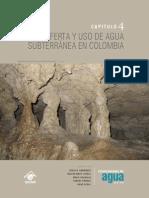 Oferta y Uso de Aguas Subterráneas en Colombia (IDEAM, 2010)