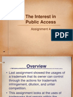 Public access property law