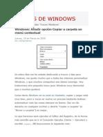 Trucos de Windows