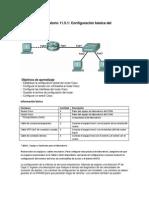 11.5.1 Configuración básica del dispositivo Cisco