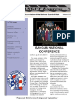 EANGUT October 2013 Newsletter