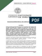 Contencioso Administrativo - Casos Práticos