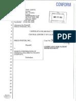 Price Pfister v. Masco Corporation of Indiana