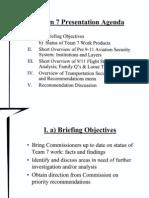 FO B4 Commission Meeting 3-30-04 Fdr- Tab 4- Slides and FSC Handout- Team 7 Presentation Agenda 737