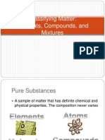 2 Elements Compounds Mixtures 2