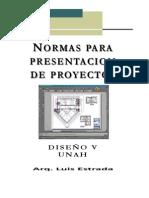 Normas de Presentacion de Proyectos