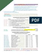 Dexter Livingstone Organizational Overview Financial Crises Planning