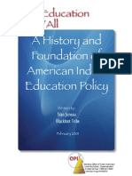 45202618 History and Foundation of American Indian Education Policy Stan Juneau