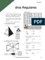 IV BIM - 4to. Año - GEOM - Guía 4 - Poliedros Regulares