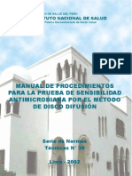 Manual de Sensibilidad Antimicrobiana INS